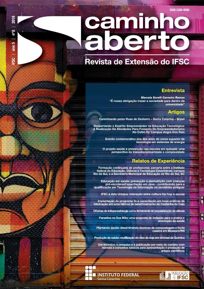 Imagem de capa da Revista Caminho Aberto